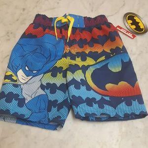 Batman swimming shorts size 4